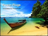 PowerPoint Template - Koh-Hong Nation Park at South of Thailand