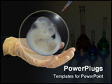 PowerPoint Template - laboratory animal research composite