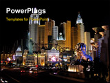 PowerPoint Template - hotel at las vegas