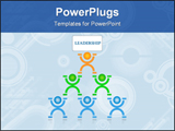 PowerPoint Template - That is a leadership concept for a lot of things in the life.