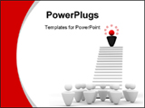 PowerPoint Template - Image expressing leadership