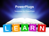 PowerPoint Template - Learning cubes