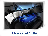 PowerPoint Template - Great template for presentations on film-making, film production, photograph, movie stars, etc.