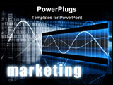 PowerPoint Template - Marketing as a Creative Concept Art Background