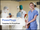 PowerPoint Template - doctors in operation theator