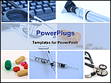 PowerPoint Template - image of medical montage