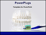 PowerPoint Template - equipment of dental care