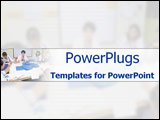 PowerPoint Template - Medical staff in meeting