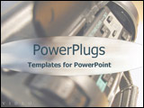PowerPoint Template - Close-up of video camera
