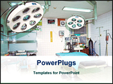 PowerPoint Template - image of a operation theater