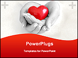 PowerPoint Template - protecting heart
