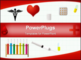 PowerPoint Template - background for medical apparatus