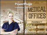 PowerPoint Template - medical offices sign