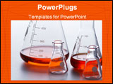 PowerPoint Template - lab beakers