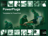 PowerPoint Template - Medical collage