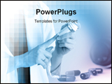 PowerPoint Template - Capsules and Nurse
