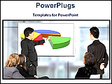 PowerPoint Template - image of business conference