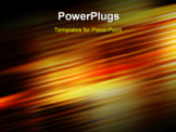 PowerPoint Template - abstract background with motion blur and colors