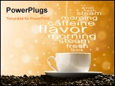 PowerPoint Template - magic morning coffee