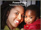 PowerPoint Template - mother and child