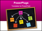 PowerPoint Template - think positively big out of the box - a motivational concept