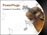 PowerPoint Template - Violin