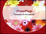 PowerPoint Template - flowers of