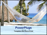 PowerPoint Template - speeding holidays at beach