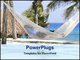 PowerPoint Template - speeding holidays at beach