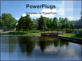 PowerPoint Template - Beautiful Nature Scene In Park