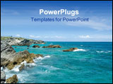 PowerPoint Template - Photo on South Shore in Bermuda