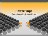 PowerPoint Template - leaders negotiations