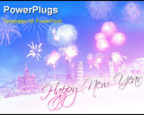 PowerPoint Template - New Year Greetings