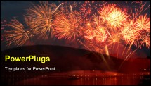 PowerPoint Template - Fireworks