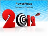 PowerPoint Template - 2012 New Year And Conceptual Target