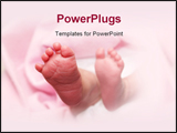 PowerPoint Template - A newborn baby