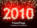 PowerPoint Template - christmas 2010, this illustration may be usefull as designer work.