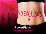 PowerPoint Template - fitness - no excuses