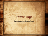 PowerPoint Template - Showing old paper