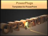 PowerPoint Template - 3d conceptual render
