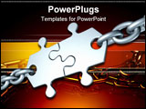 PowerPoint Template - partnership (metaphor with a puzzles)