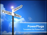 PowerPoint Template - Concept image of Future Past