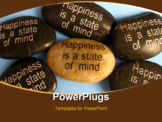 PowerPoint Template - Popular affirmation saying used in mental and emotional health and spirituality or philosophy.