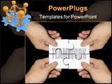 PowerPoint Template - Do you agree that Teamwork is the gateway to success?