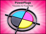 PowerPoint Template - It can be used as a trade mark or an illustration on a polygraphic theme