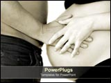 PowerPoint Template - Husband and wife bond over pregnancy.