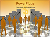 PowerPoint Template - computer generated image - business sunshine
