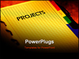 PowerPoint Template - a project planner