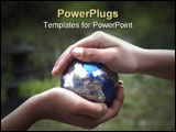 PowerPoint Template - Caring for Earth and protecting our future