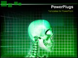 PowerPoint Template - The human brain and its processes.